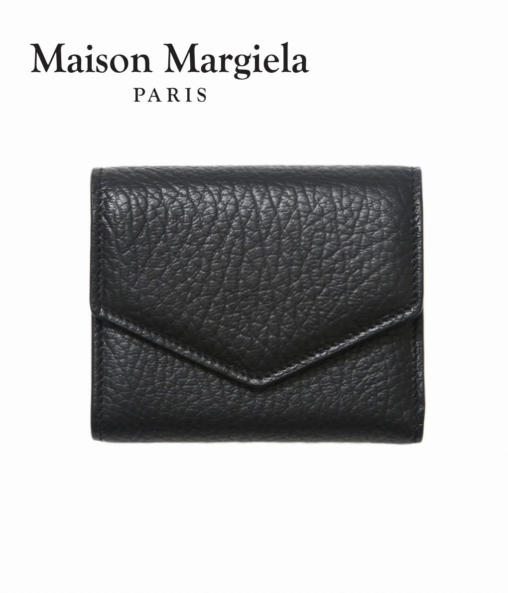 ■【予約商品 2020年8月~11月入荷予定】Maison Margiela / メゾン マルジェラ : LEATHER WALLET : レザーウォレット レザーサイフ 三つ折り 革財布 : S56UI0136【RIP】【BJB】【ANN】