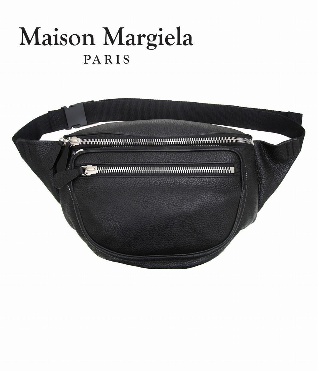 Maison Margiela / メゾン マルジェラ : LEATHER WAIST BAG : ウエストバッグ レザーウエストバッグ バッグ レザーバッグ : S70WB0001 【RIP】