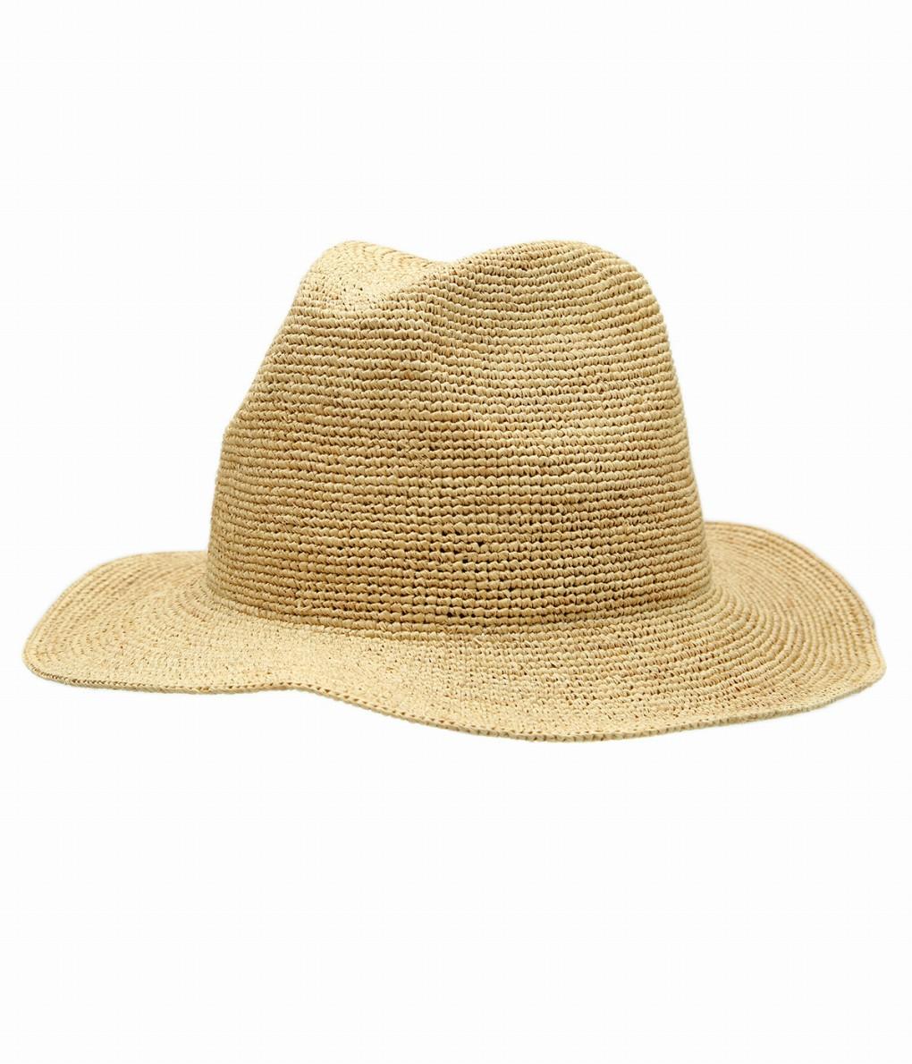 KIJIMA TAKAYUKI / キジマ タカユキ : Raffia Hat : ラフィアハット ハット 帽子 メンズ : 201326 【RIP】
