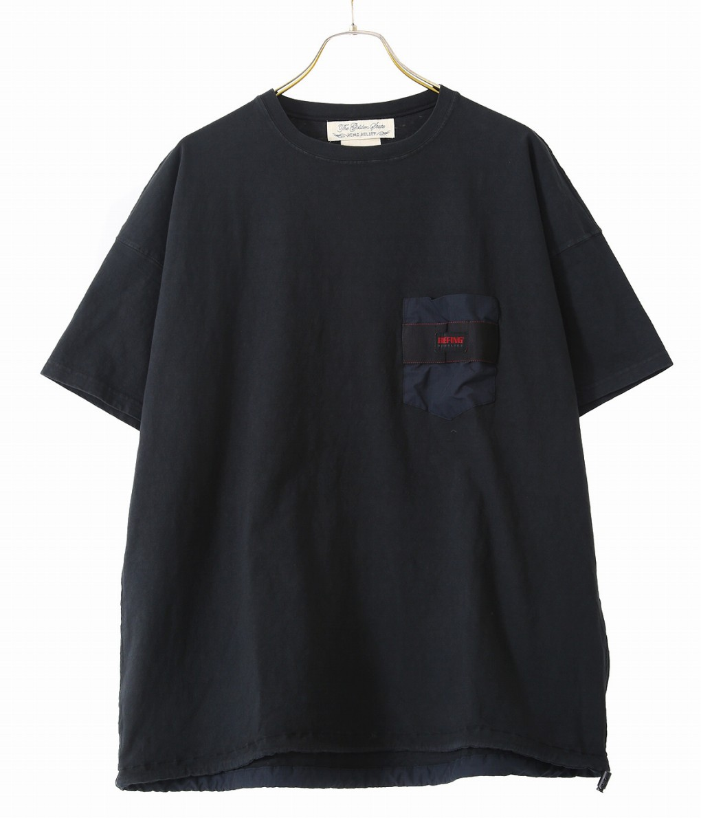 REMI RELIEF / レミレリーフ : 16/-天竺ブリーフィング半袖T : ブリーフィング コラボレーション Tシャツ メンズ : RN20269183 【PIE】