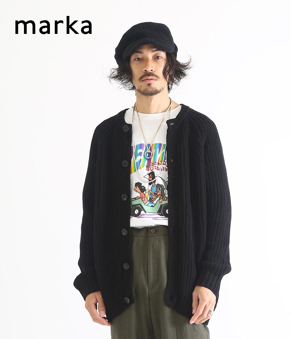 marka / マーカ : 別注 CREW-NECK CARDIGAN - ARKnets & PARKING exclusive - : マーカ クルーネックニット カーディガン カーディガン クルーネック 別注 メンズ : M18C-09SW01C 【WIS】【COR】