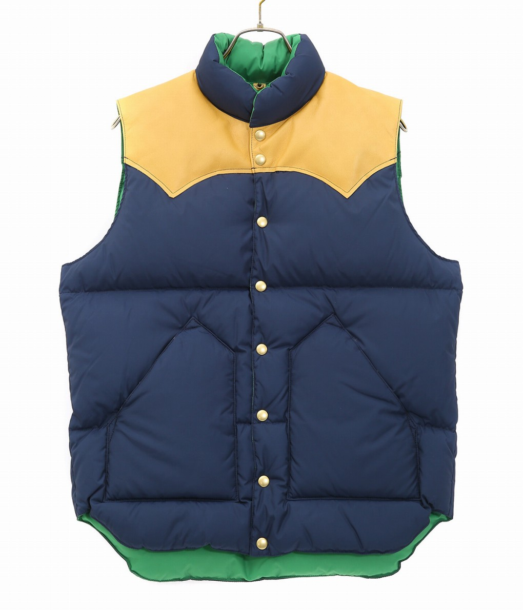 ROCKY MOUNTAIN FEATHER BED / ロッキーマウンテンフェザーベッド : DOWN VEST : ダウン ロッキー ロッキーマウンテンダウン ダウンベスト メンズ : 200-192-01 【STD】