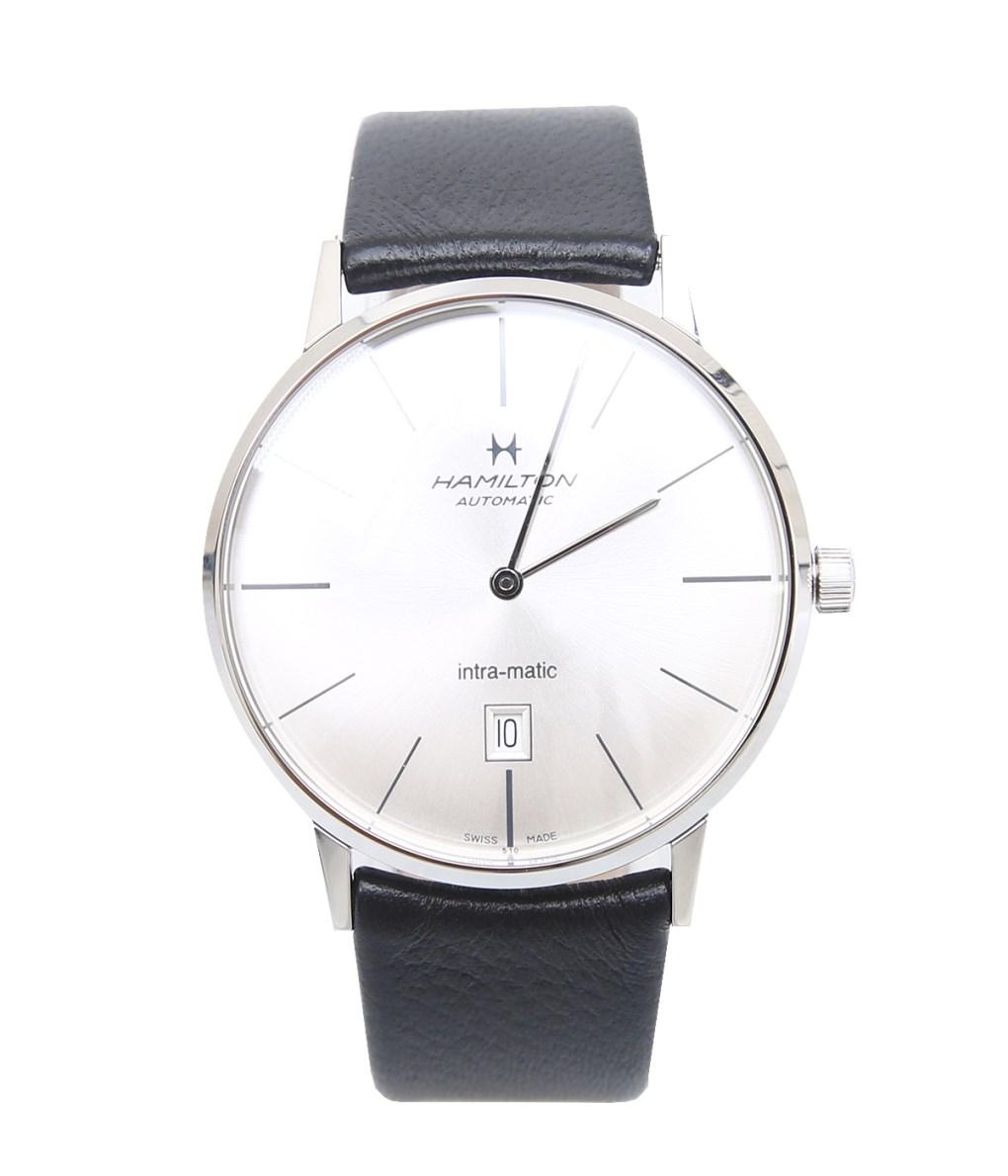 HAMILTON / ハミルトン : イントラマティック : イントラマティック オート 腕時計 ハミルトン 新作 : H38755751 【MUS】