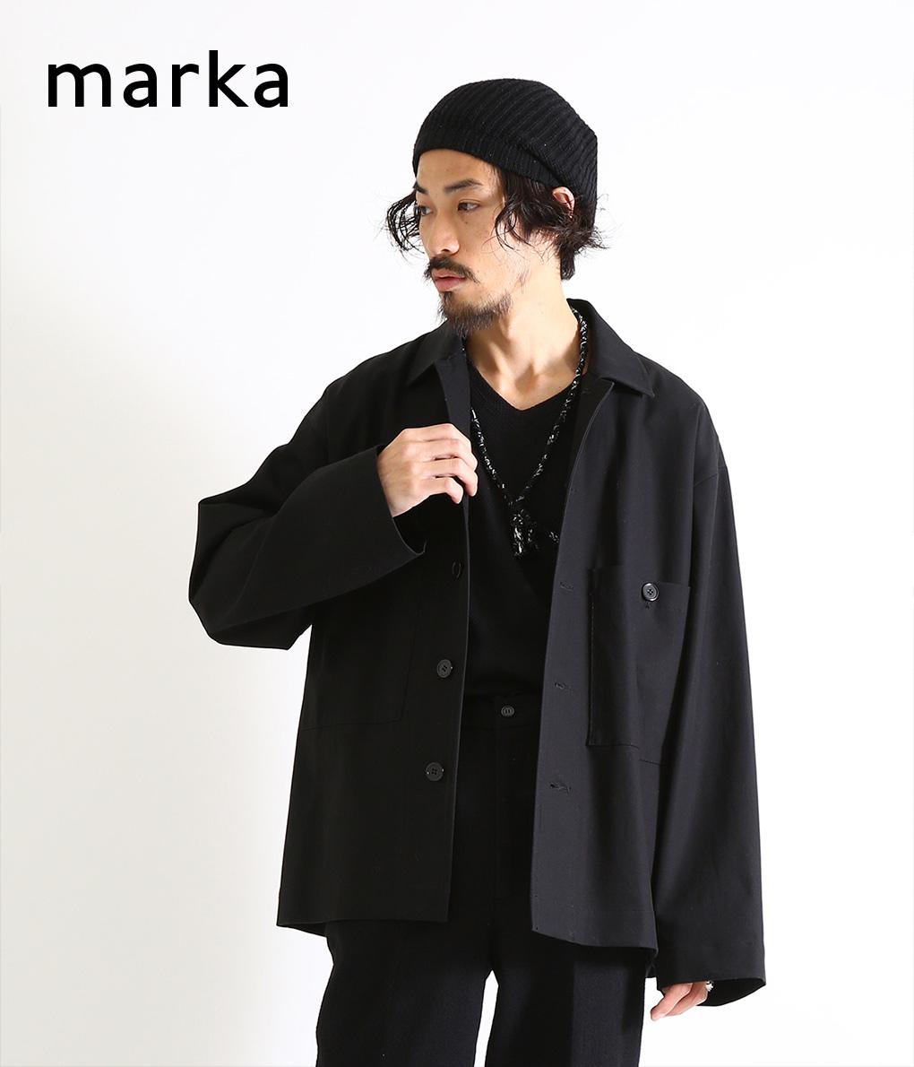 marka / マーカ : UTILITY SHIRTS -co twill - : マーカ シャツジャケット 長袖シャツ ジャケット ユーティリティシャツ コットンシャツ メンズ : M19C-19SH01C【COR】【WIS】