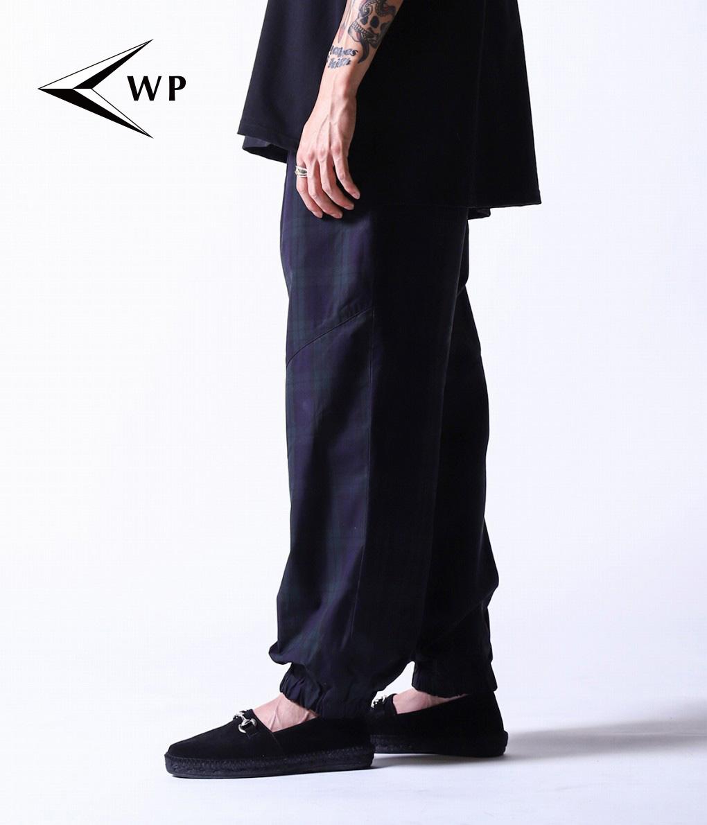 WP / ダブリューピー : TRACK CHECK PANTS : ウルフパック トラックチェックパンツ メンズ ボトムス : WP04-P006 【STD】【REA】