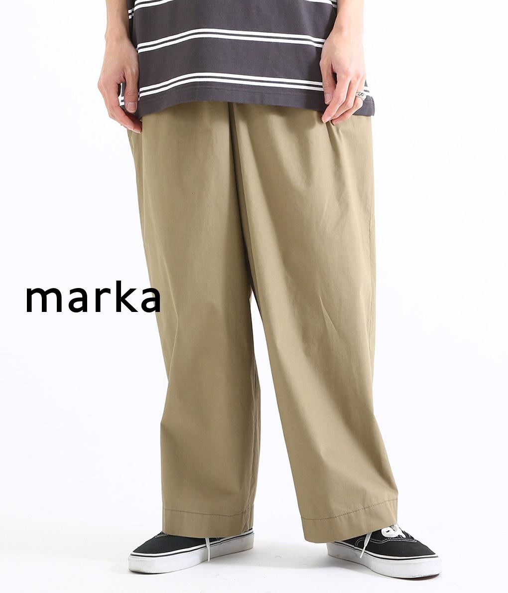 marka / マーカ : WELT POCKET EASY PANTS : マーカ ロングパンツ ウェルトポケットイージーパンツ イージーパンツ ポケットパンツ メンズ / 全2色 : M19A-15PT01C 【COR】【WIS】