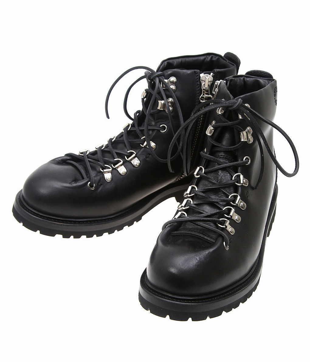 BUTTERO / ブッテロ : CANALONE TREKKING BOOTS(LEATHER) : トレッキングブーツ マウンテンブーツ レザーブーツ : B4950-leather-tosch 【MUS】