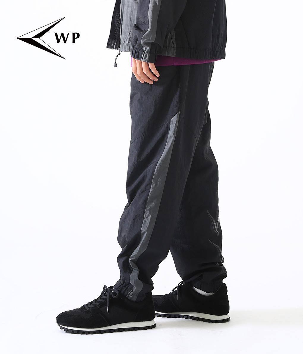 WP / ダブリューピー : WASHER NYLON TRACK PANTS : ウルフパック ウォッシャーナイロン トラックパンツ メンズ ARKnets アークネッツ : WP03-P004【STD】【REA】