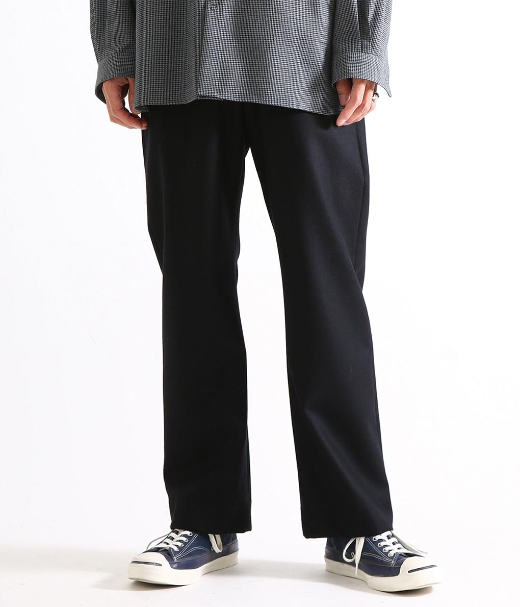 ■【予約商品 2019年9月~10月入荷予定】marka / マーカ : STRAIGHT FIT EASY - wool flannel - : ストレートフィットイージー イージーパンツ ウールパンツ : M19C-03PT03C【COR】【WIS】