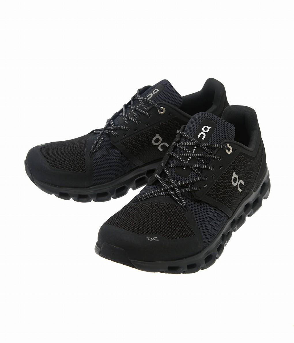 【期間限定送料無料!】On / オン : Cloudstratus -Black/shadow- : クラウドストラトス 靴 スニーカー シューズ ランニングシューズ メンズ : 2999845【AST】