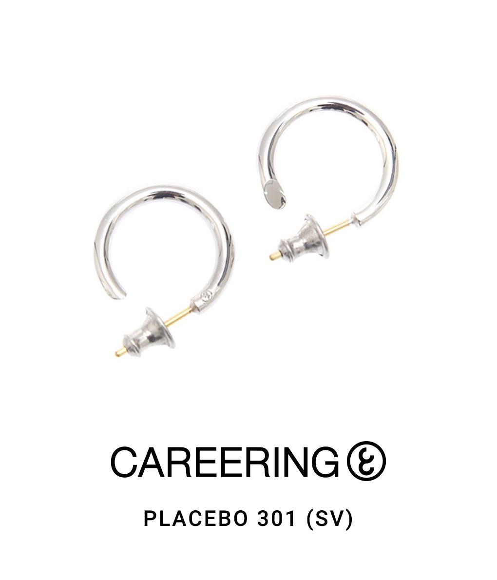 CAREERING / キャリアリング : PLACEBO 301 (SV) : プラシーボ ピアス アクセサリー メンズ : PLACEBO-301-SV 【NOA】