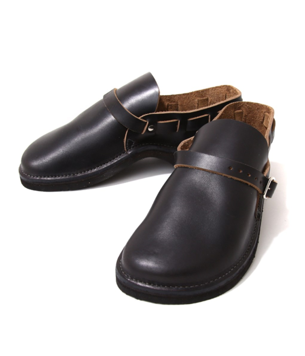 FERNAND LEATHER / フェルナンドレザー : Middle English : フェルナンドレザー レザーシューズ サンダル leather-fair-shoes 【made_in_usa】 : SH-ASST-BLK-SUEDE 【STD】