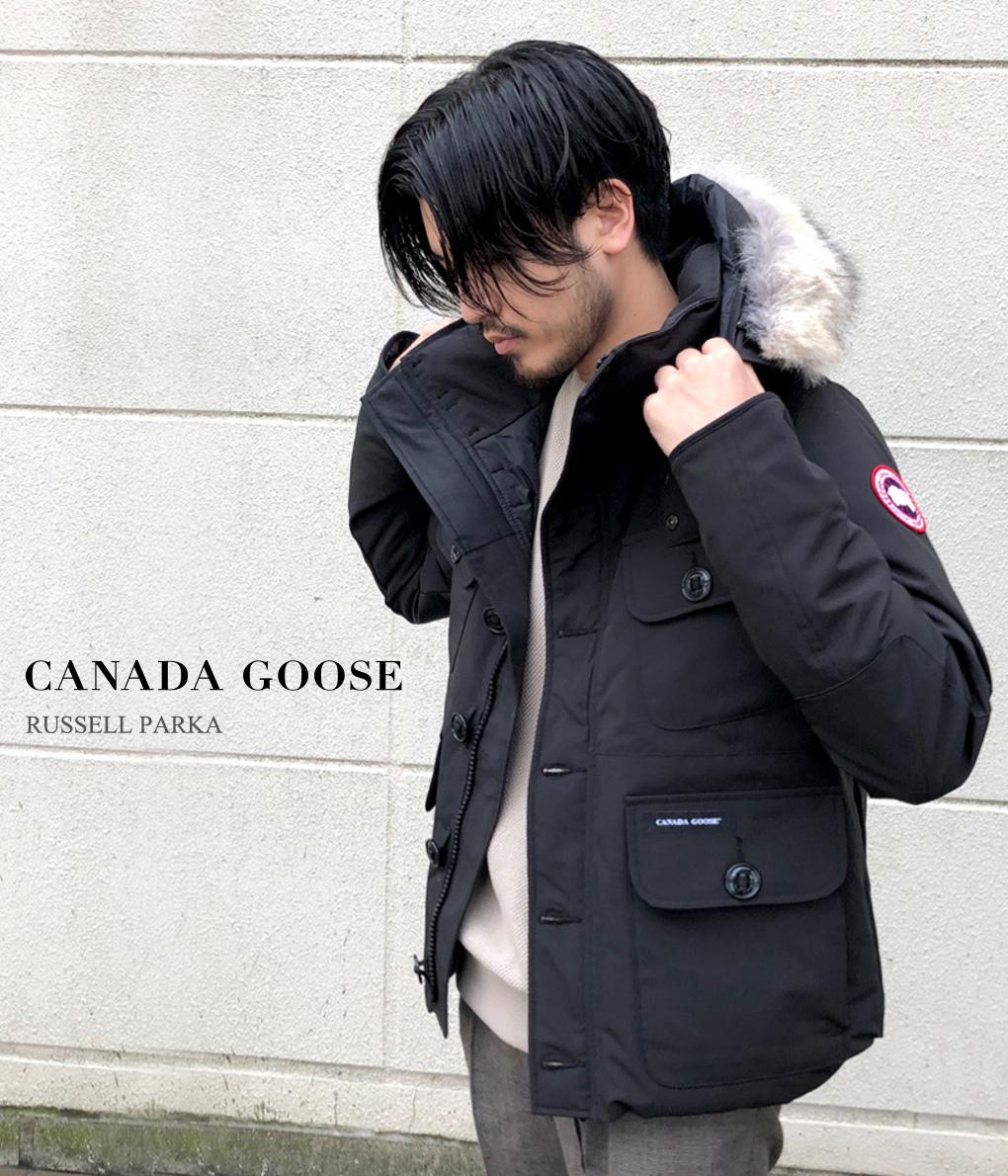 【送料無料!】【国内正規品】CANADA GOOSE / カナダグース : RUSSEL PARKA :ラッセルパーカー ヘビーアウター : 2301JM-SZ 【STD】