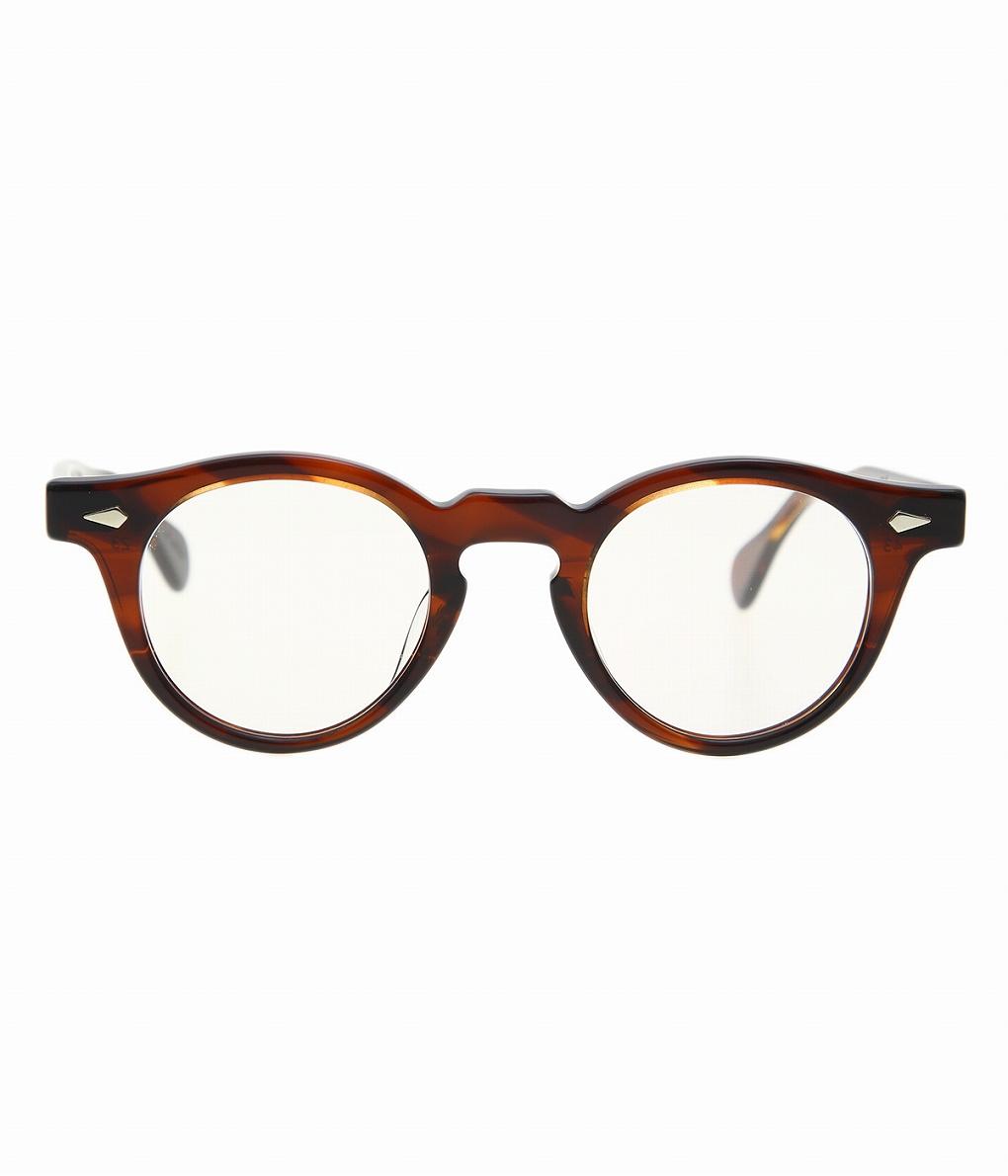 JULIUS TART OPTICAL / ジュリアスタートオプティカル : HAROLD 43(size) 45(size) -DEMI CLEAR / CR39- : サングラス アクセサリー メガネ 眼鏡 : JTPL-021M-022M 【COR】