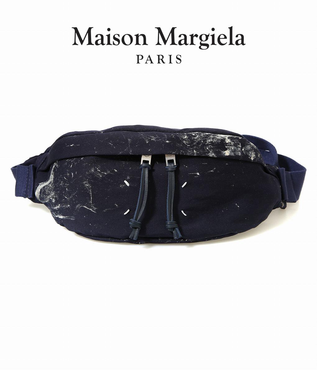 【サマーキャンペーン!】Maison Margiela / メゾン マルジェラ : CROSS BODY POUCH DYED : クロスボディーポーチ ウエストバッグ : S55WB0010-PS312 【RIP】【BJB】