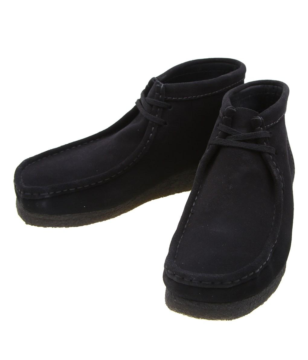 【送料無料】Clarks / クラークス : WALLABEE BOOT -BLK SUEDE- : ワラビーブーツ ブーツ スウェード 靴 メンズ : 26133281 【STD】