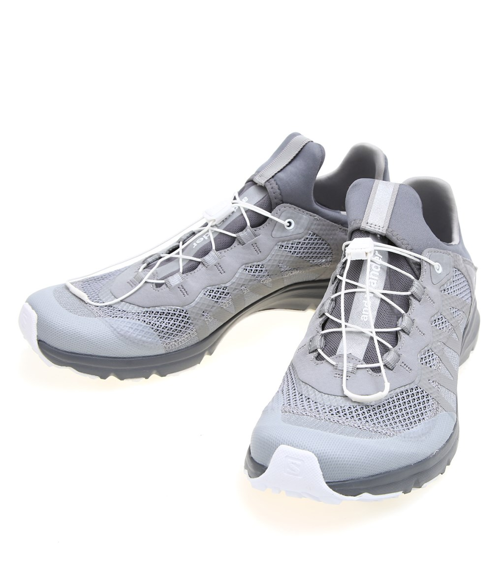 and wander / アンドワンダー : reflective mesh sneaker by salomon : AA01-AA128 スニーカー サロモン ダブルネーム 靴 メンズ : 574-0178001 【PIE】