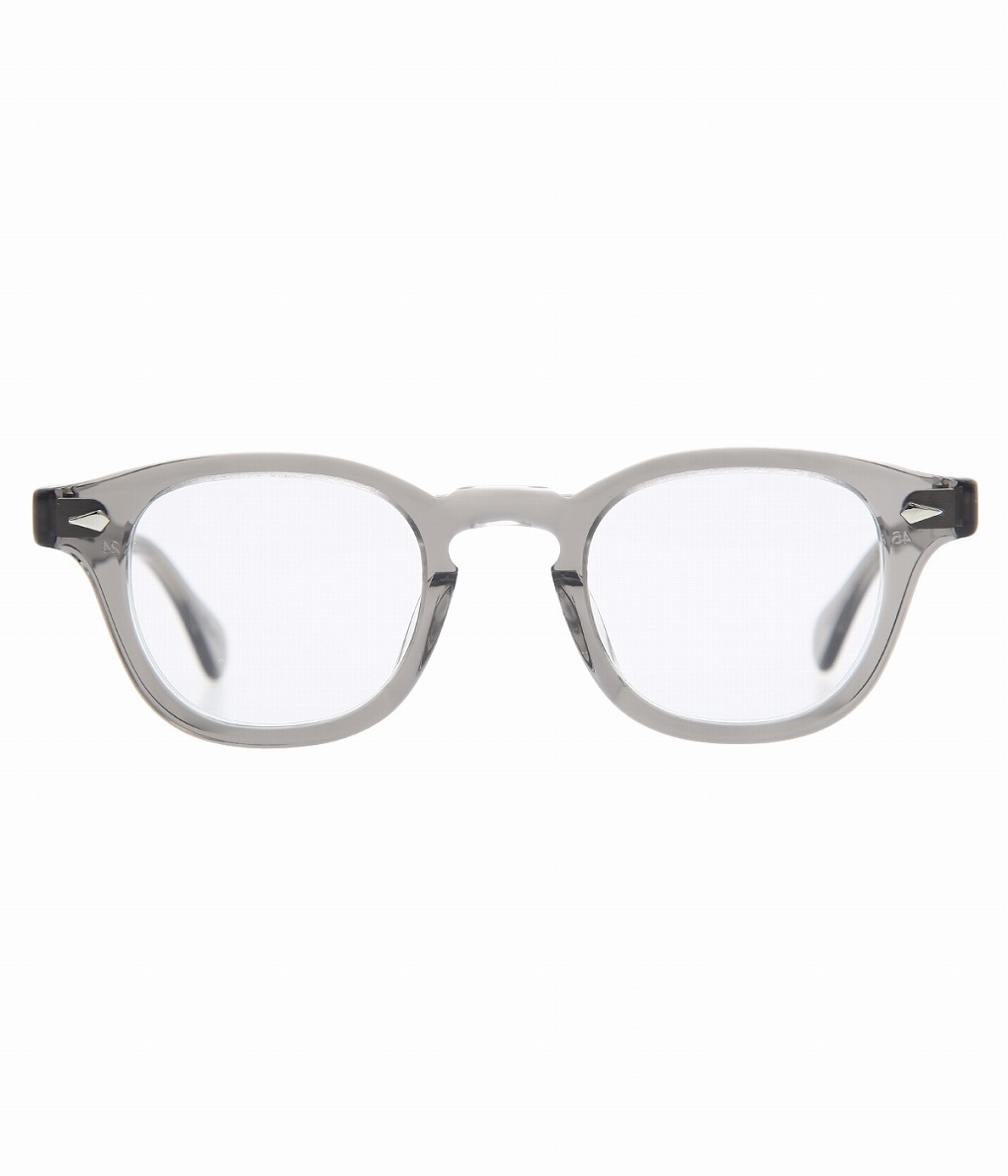 JULIUS TART OPTICAL / ジュリアスタートオプティカル : AR 46-24 - GREY CRYSTAL / CLEAR - : メガネ 眼鏡 アイウェア : JTPL-102L 【COR】【WIS】