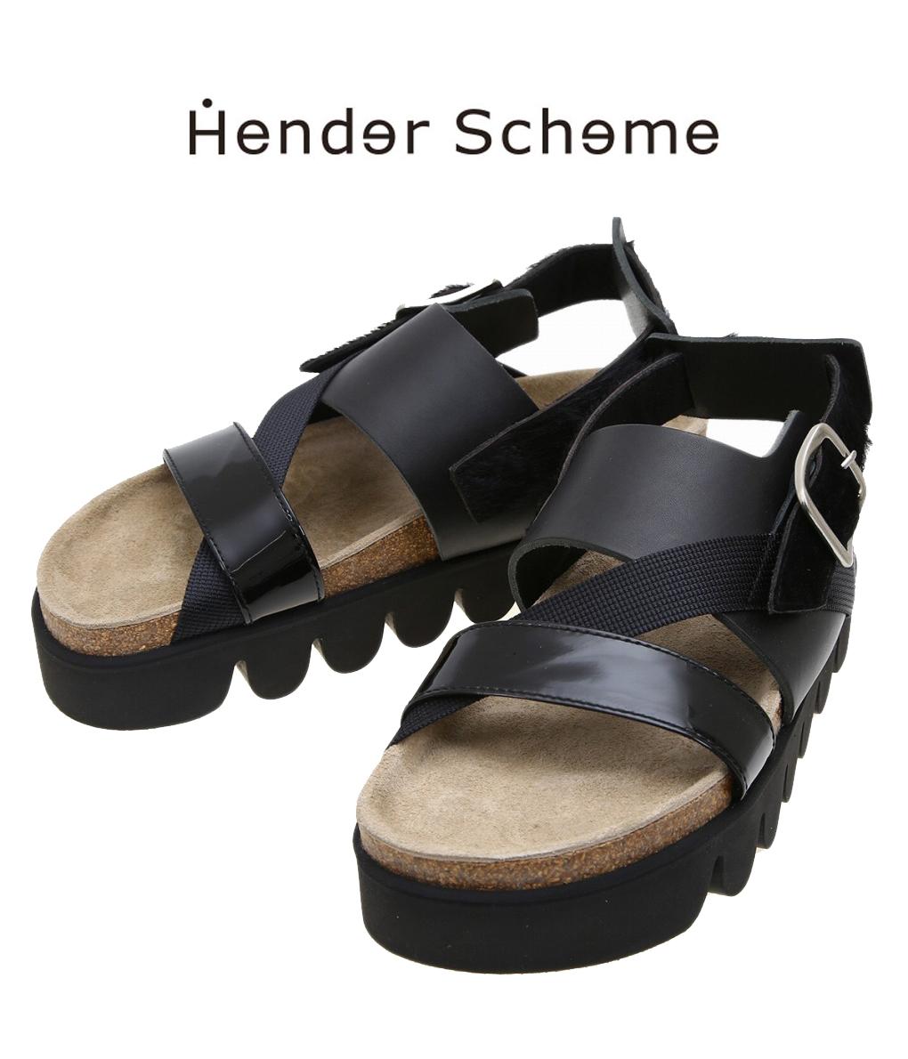 Hender Scheme / エンダースキーマ : tortoise : トータス レザーサンダル サンダル メンズ サンダル シューズ : NC-S-TOR 【RIP】【BJB】