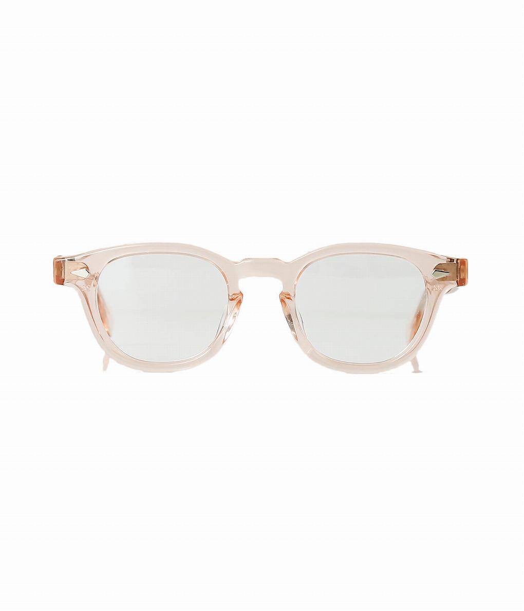 JULIUS TART OPTICAL / ジュリアスタートオプティカル : AR 46-22 - FRESH PINK / CLEAR - : メガネ 眼鏡 アイウェア メンズ レディース : JTPL-002H 【COR】