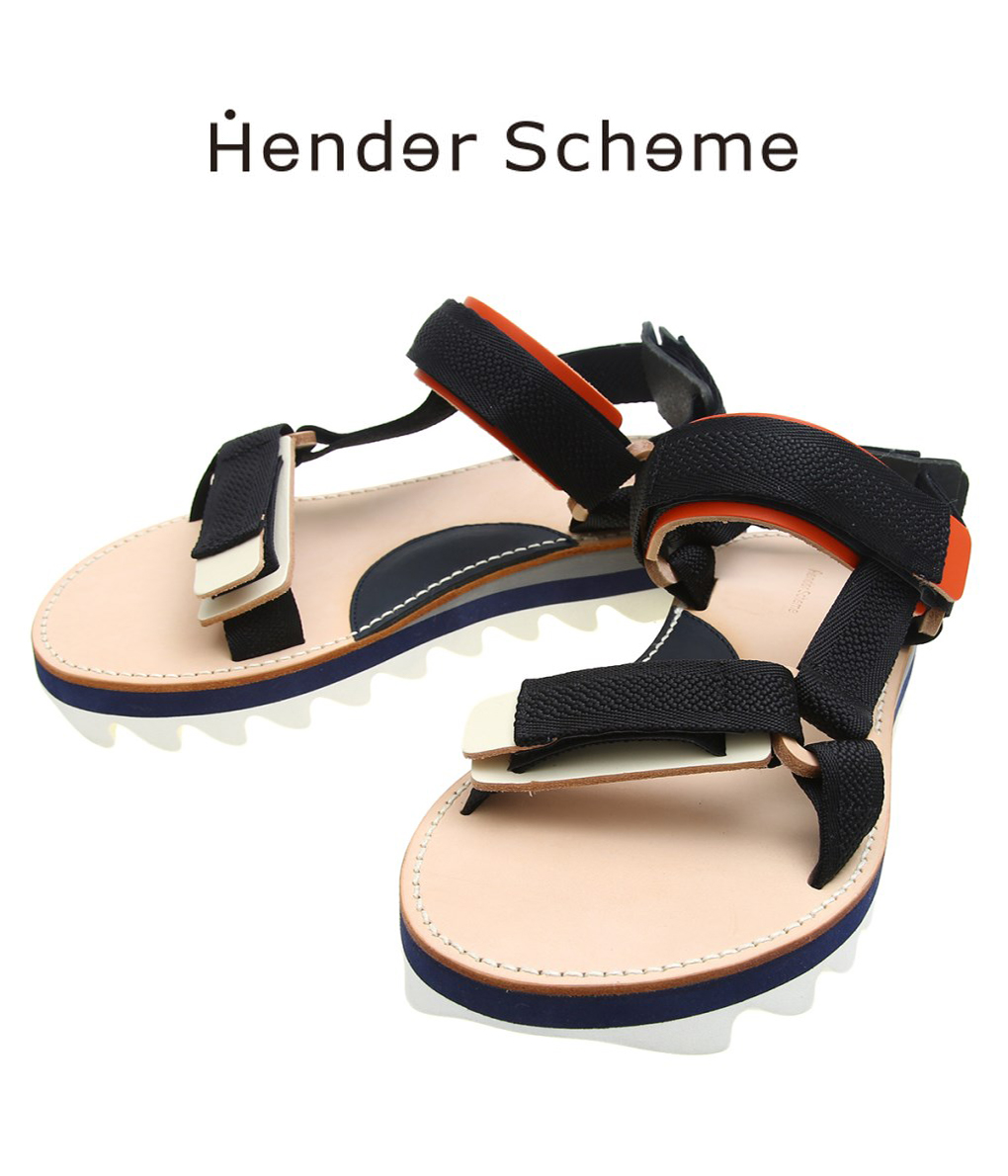 Hender Scheme / エンダースキーマ : webb: ウェブ レザーサンダル サンダル メンズ サンダル シューズ : bs-rs-web 【RIP】