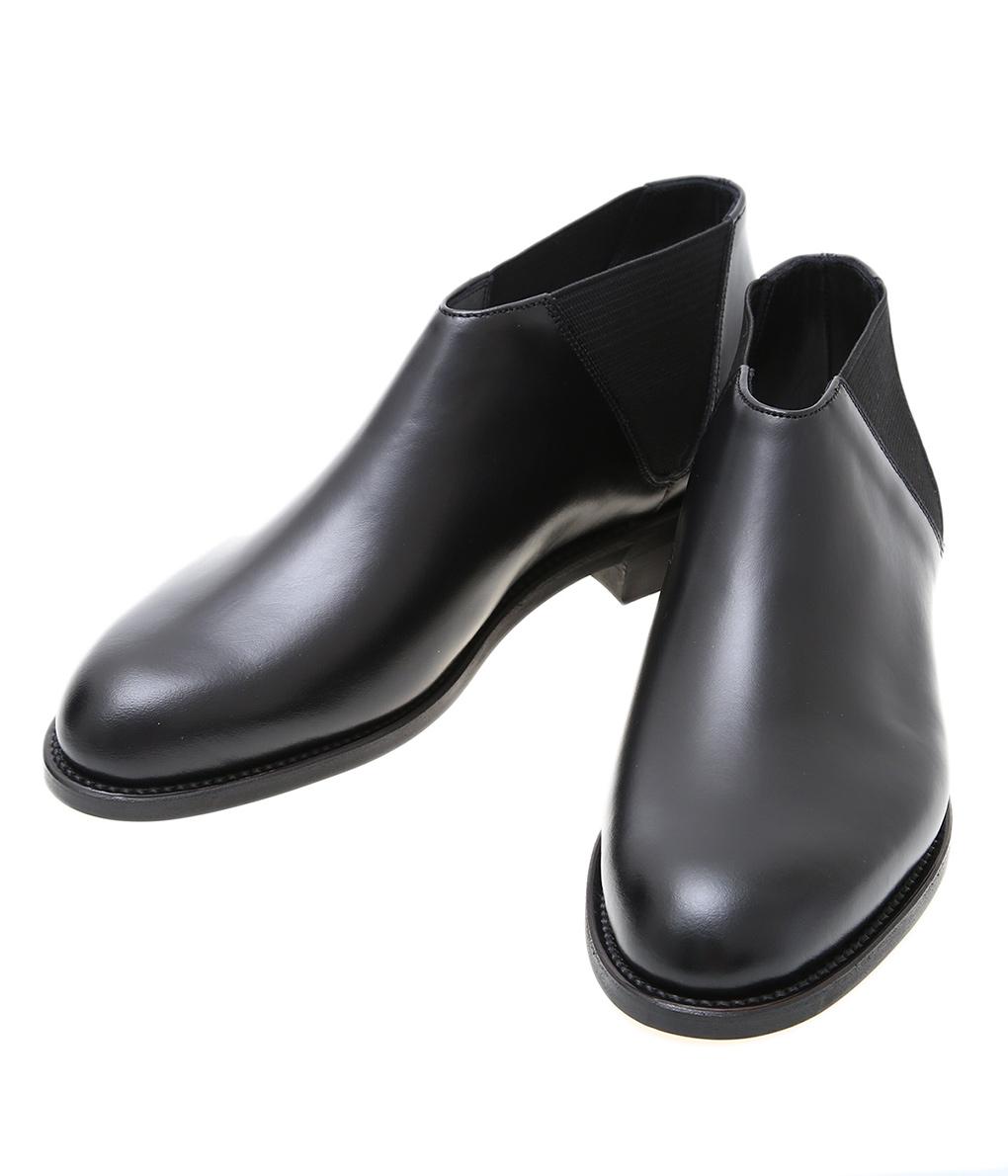 正規取扱 受注生産品 年末年始大決算 3980円以上で送料無料 昼12時30分までの注文で即日発送 BEAUTIFUL SHOES ビューティフルシューズ : レザーシューズ レディース 靴 ショートブーツ MIDDLECUTSIDEGORE BSS2034005 ANN
