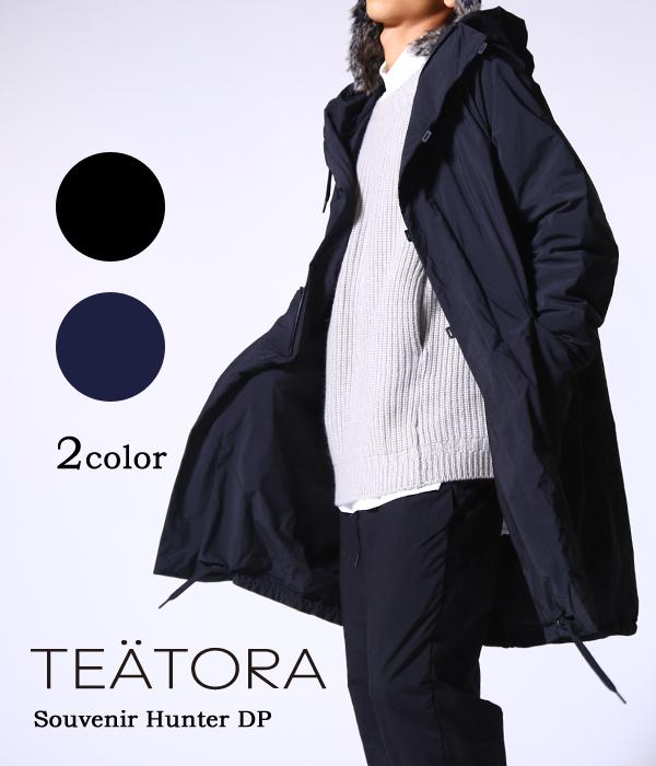 TEATORA / テアトラ : Souvenir Hunter DP / 全2色 : テアトラ スーベニア ハンター ロングコート コート メンズ 秋冬 : TT-104-DP 【MUS】【BJB】