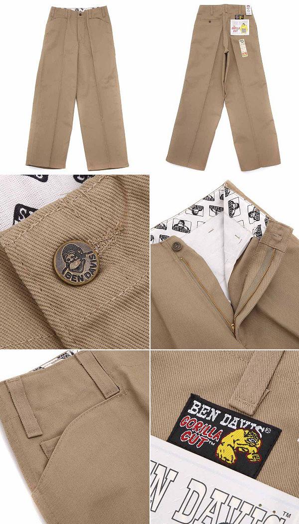 110021e4907 ... BEN DAVIS   Ben Davis  GORILLA CUT PANTS  Tuck underwear work pants  gorilla cut ...