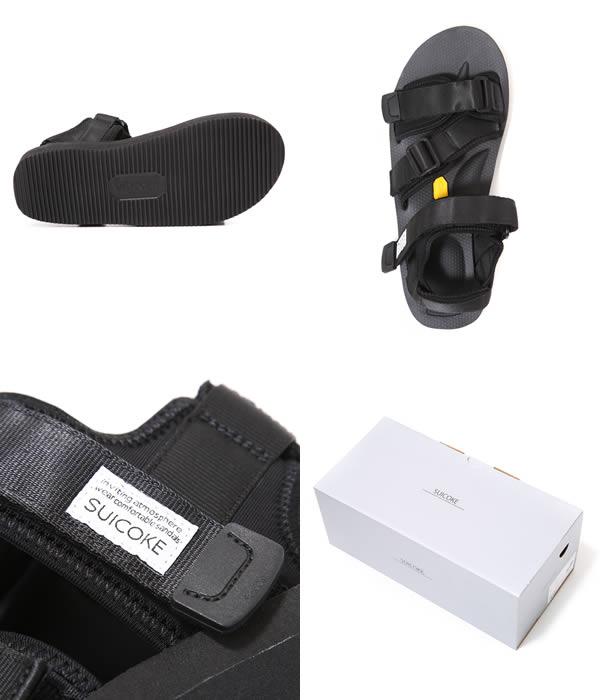 SUICOKE/KISEE-V / (22 cm-24 cm) / (the XX ladies strap Sandals Vibram sole Vibram sport sandal sposati) OG-044 V