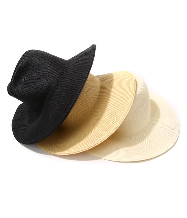 【サマーキャンペーン!】KIJIMA TAKAYUKI / キジマ タカユキ COEUR クール : WIRE PAPER HAT / 全3色 : ワイド ブリム ハット クール 帽子 ユニセックス ペーパーハット ワイヤーハット : 161106【RIP】【BJB】