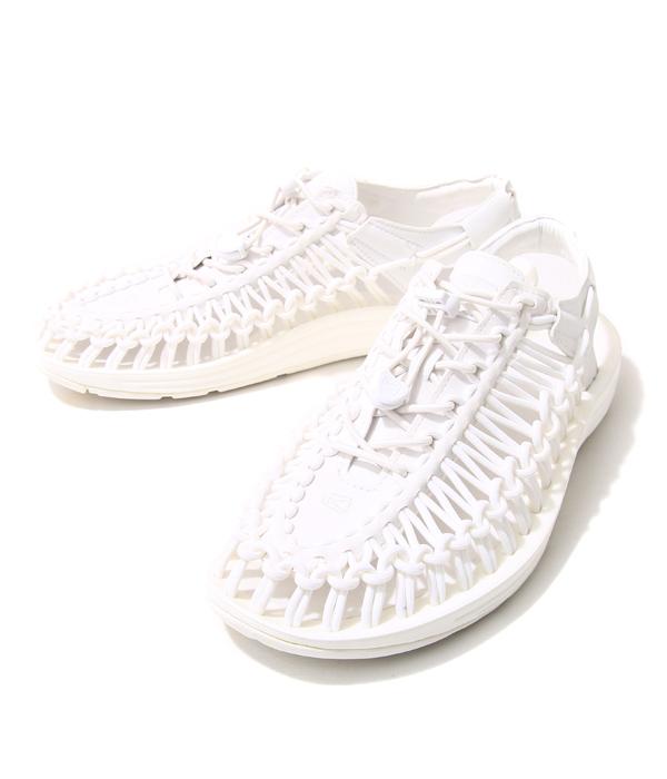 KEEN / キーン : 【メンズ】UNEEK 3C-Star White- (25cm~29cm) : ユニーク3c ユニークスリーシー スターホワイト アウトドア シューズ 靴 アウトドア 旅行 レジャー 軽量 : 1014098 【STD】