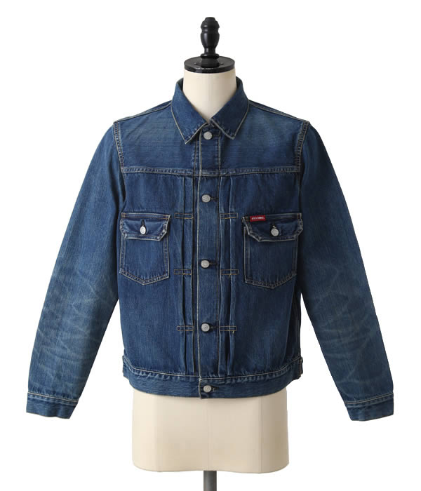 HYSTERIC GLAMOUR (Louis Vuitton) and USED processing denim 2 ND TYPE G Jean (denim jacket second blouson) 0261AB10