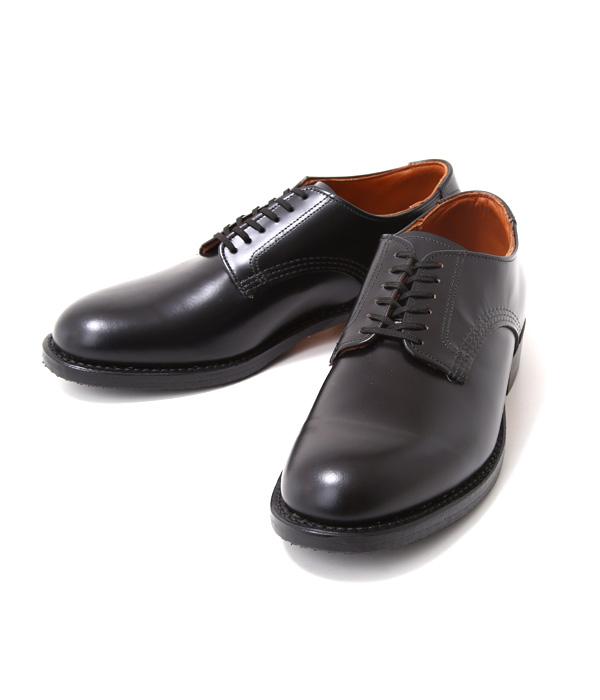 終了間際!!【期間限定送料無料!】RED WING / レッドウィング : BLUCHER BLACK ESQUIRE : オックスフォード ラウンド ブーツ レザー シューズ 靴 : 9087【STD】