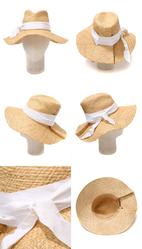 [劳拉命中和急救-自然/白-古典经典急救草帽自然 n...7729-NAT-西隧帽子的萝拉帽子
