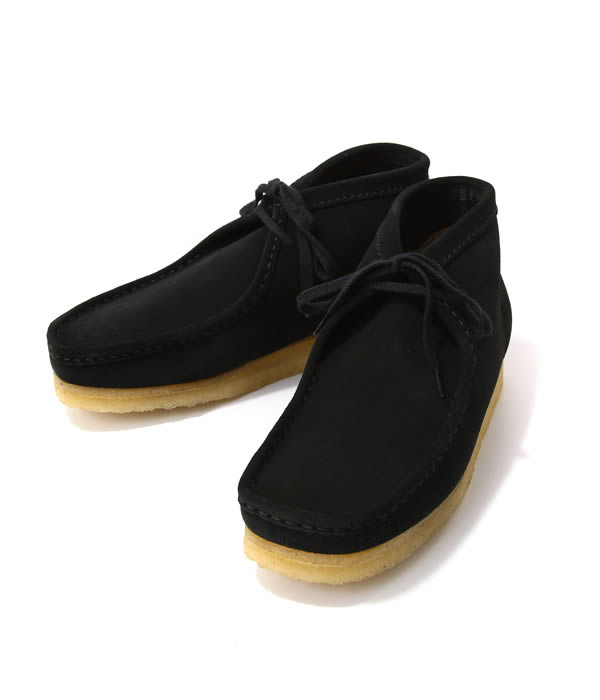 Clarks / クラークス : WALLABEE BOOT -BLK SUEDE- : デザート ブーツ レザー シューズ 靴 クラークス : 26103669【STD】