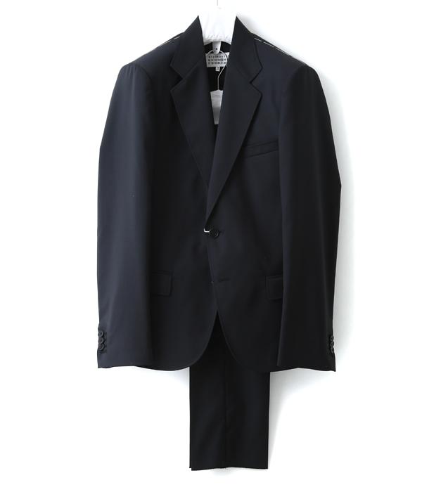 Maison Margiela / メゾン マルジェラ : 【メンズ】PLAIN SUIT / サイズ44~48 : スーツ セットアップ ジャケット テーラード 2Bノッチドタイプ パンツスーツ マルタンマルジェラ : S30FT0076【RIP】