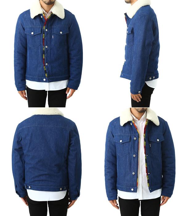 MAISON KITSUNE [mezonkitsune] / DENIM TRUCKER JACKET (meson Kitsune denim to lacquer jackets BOA jacket) KML1652