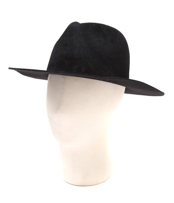 UNUSED / アンユーズド : Rabit fur hat. / 全2色/サイズ00~1 : ハット 帽子 ラビット ファー 中折れハット メンズ ユニセックス レディース : UH0416【NOA】