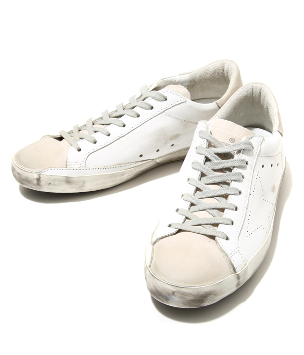GOLDEN GOOSE [황금 거 위]/SNEAKERS SUPERSTAR-WHITE SKATE-(황금 거 위 스 니 커 즈 단 화 빈티지) GCOMS590-A5