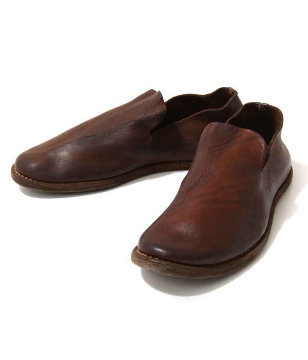 GUIDI / グイディ : SLIPON SHOES : guidi グイディ スリッポン シューズ レザーシューズ 革靴 シューズ 靴 : E28-BRW-6S【RIP】
