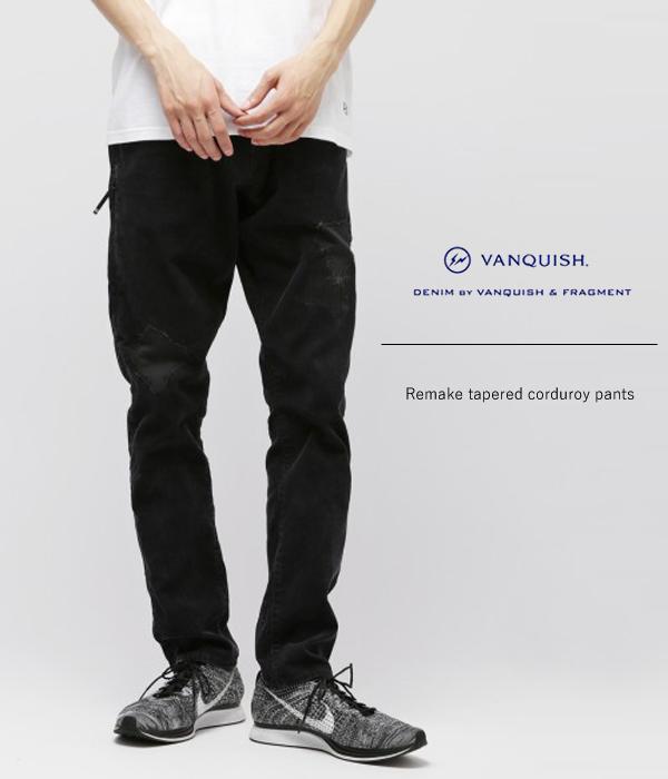 DENIM BY VANQUISH & FRAGMENT / デニムバイ ヴァンキッシュ フラグメント : Remake tapered corduroy pants / 全2色 / (リメイク テーパードコーデュロイパンツ ダメージ) VFP4031【NOA】