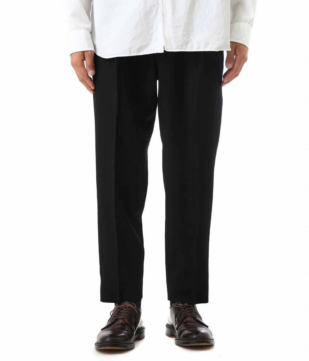MARKAWARE / マーカウェア : FRONT PLEATS PEG TOP : フロント プリーツ ペグ トップ パンツ メンズ : A18D-05PT01C 【MUS】【WIS】