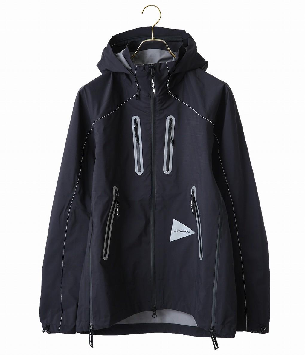 and wander / アンドワンダー : e vent jacket : イーベント ジャケット / 全2色 : AW83-FT607 【PIE】