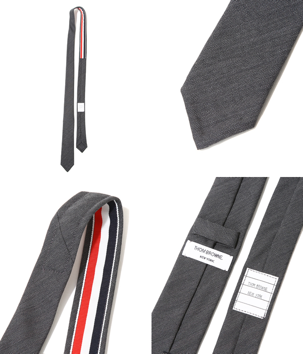 4bc230dac5cb ARKnets  THOM BROWNE   Tom Browne  CLASSIC NECKTIE IN SUPER 120 S ...