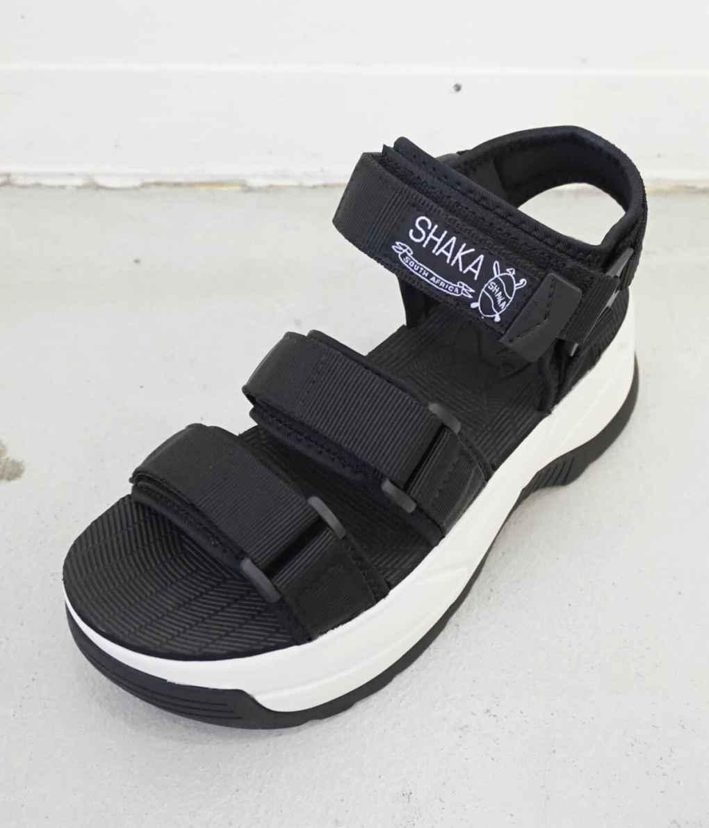 ■【予約商品 2019年5月~6月入荷予定】SHAKA / シャカ : NEO BUNGY CHUNKY : スポサン サンダル シューズ 靴 ネオバンジー チャンキー 厚底 レディース : SK433114 【ANN】