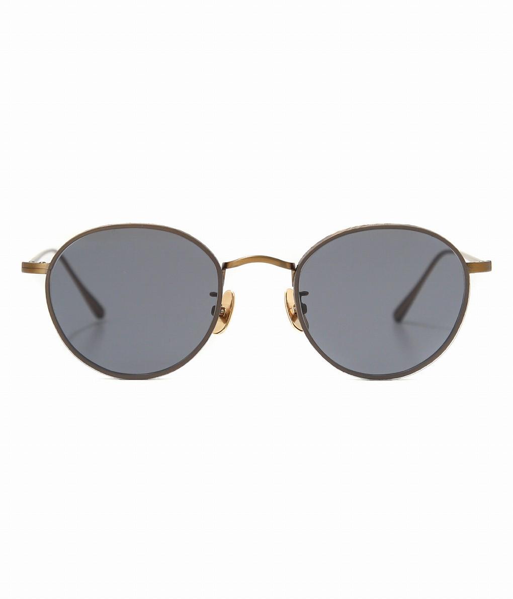 A.D.S.R. / エーディーエスアール : BUKEM01 -Antique Gold- : ADSR ゴールド ブラック サングラス メンズ : BUKEM01-a【WAX】