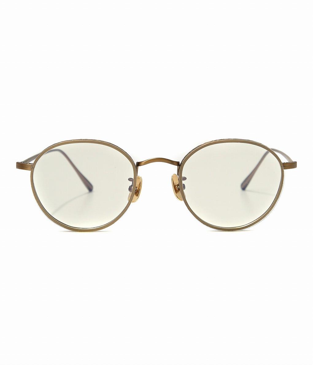 A.D.S.R. / エーディーエスアール : BUKEM01 -Antique Gold- : ADSR ゴールド クリア サングラス メンズ : BUKEM01-c【WAX】