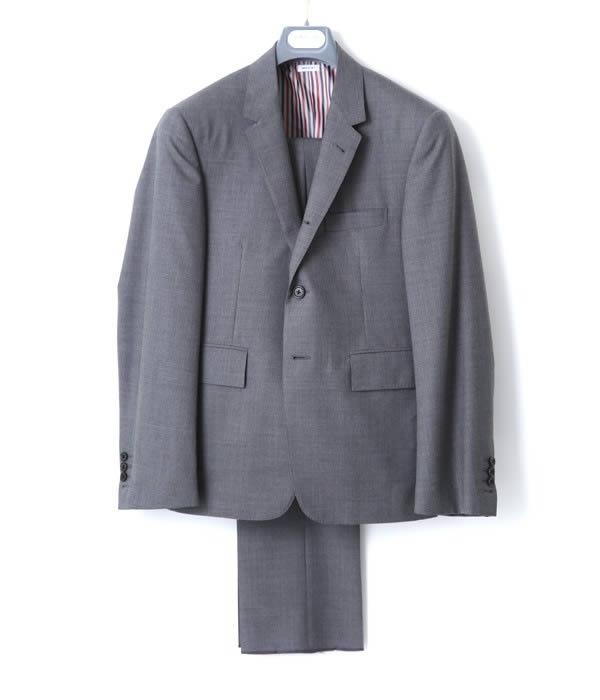 THOM BROWNE / トム ブラウン : CLASSIC SUIT IN SUPER 120S : スーツ セットアップ : MSC001A00889 【RIP】