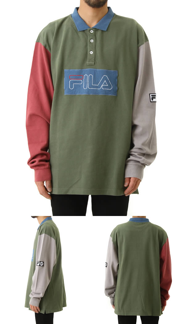 e7c6604c Liam Hodges / リアムホッジス: LH1 POLO: Men's in FILA Fila L H one polo polo shirt  18SS 18 spring and summer: 17LH0302-MUT