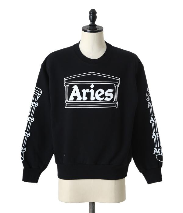 Aries / アリエス : TEMPLE CREW SWEATSHIRT : テンプル クルー スウェットシャツ 18SS 18春夏 メンズ : SOAR20101 【WAX】